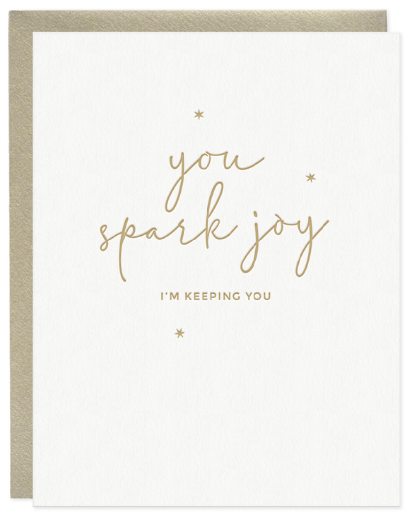 You Spark Joy Card