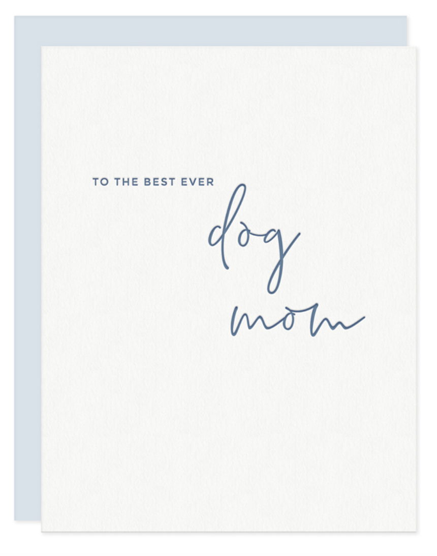 Dog Mom Card