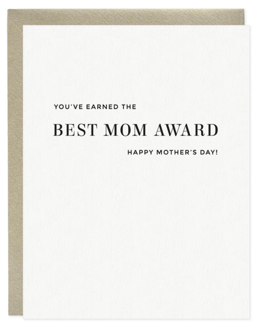 Best Mom Award Card
