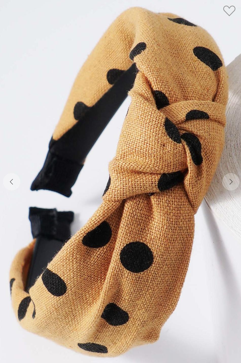 Polka Headband