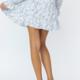 Waist Tie Flare Skirt