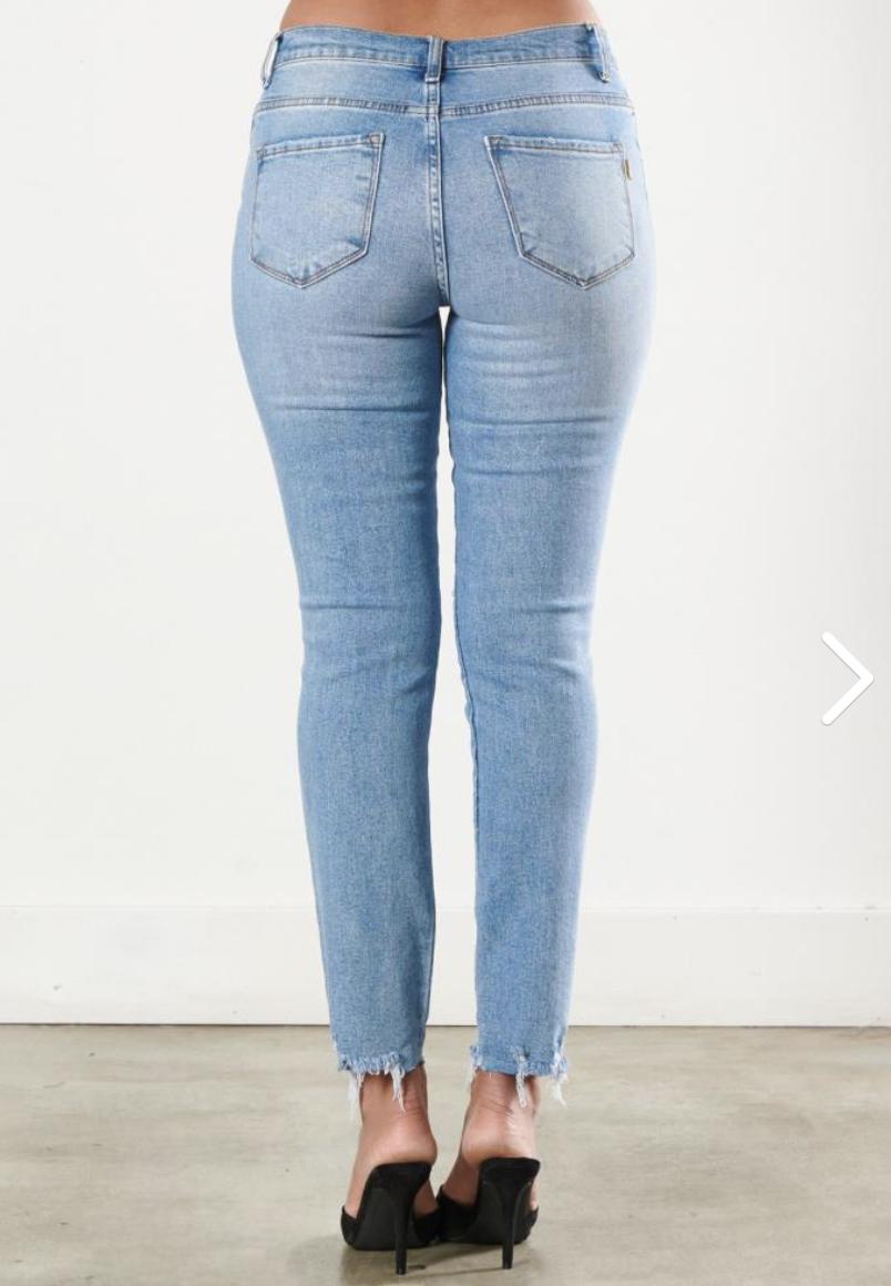 Make It Happen Skinny Jeans