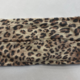 Tan Small Leopard Face Mask