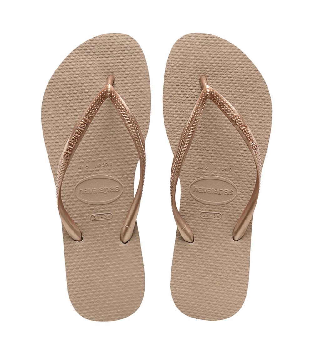 Havaianas Slim Flip Flop - Rose Gold