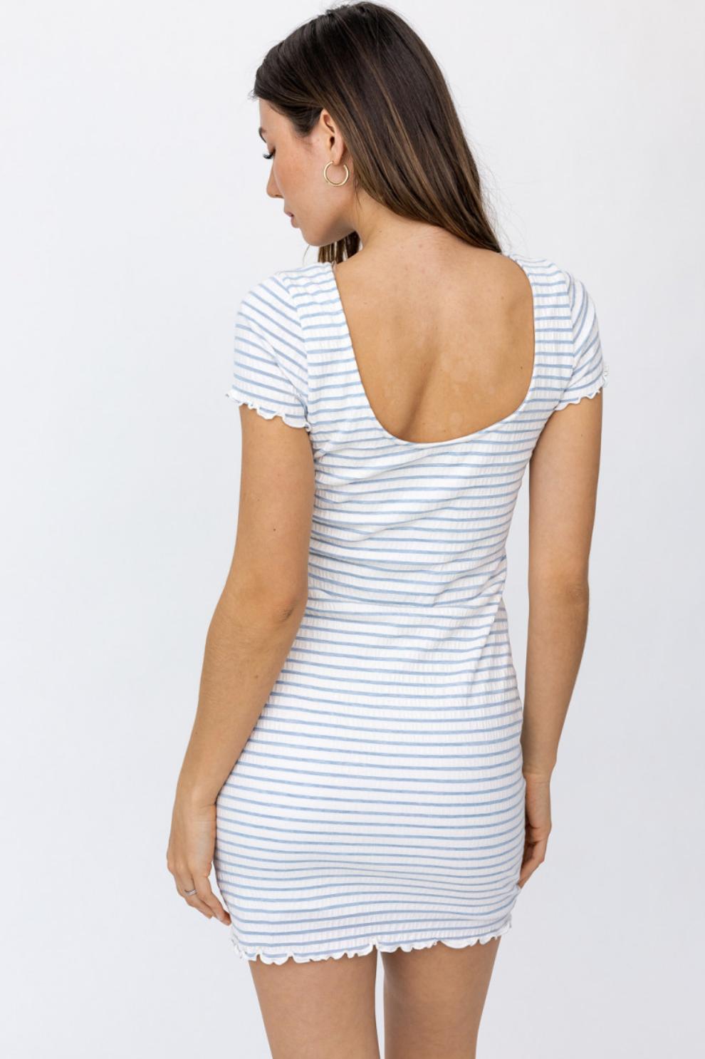 Merrow Detail Dress