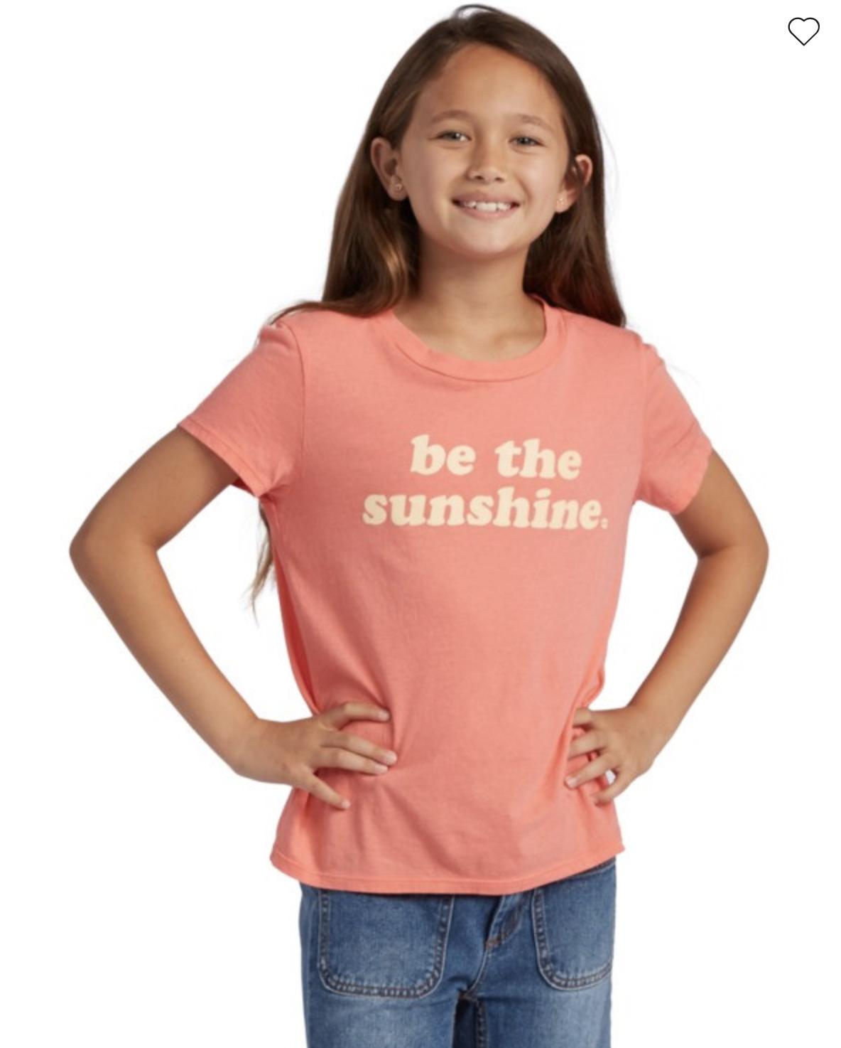 Girl's Be Sunshine Short Sleeve T-Shirt