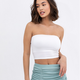 Solid Cropped Tube Top