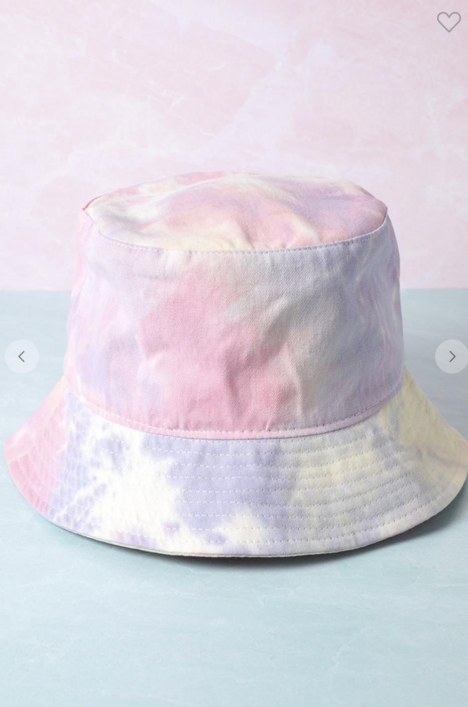 Pastel Spiral Bucket Hat