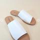 Ivy White Open Toe Sandal