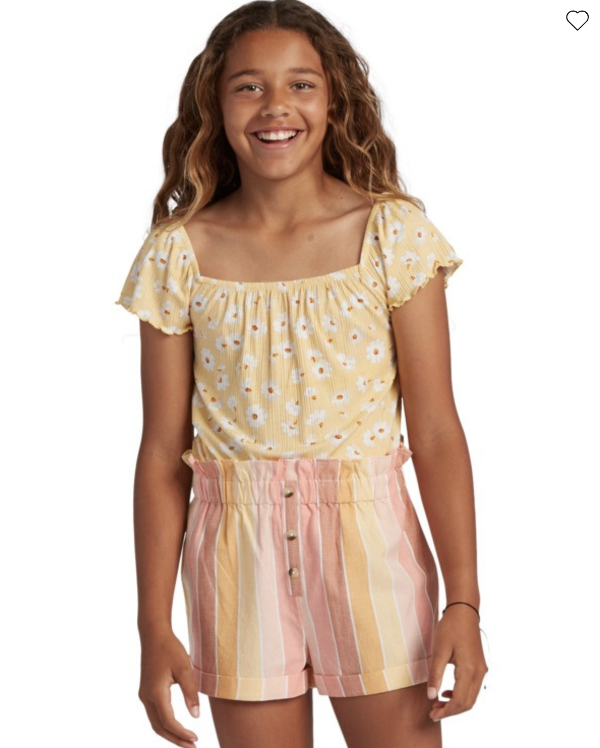 Girl's It's All Daisy Top