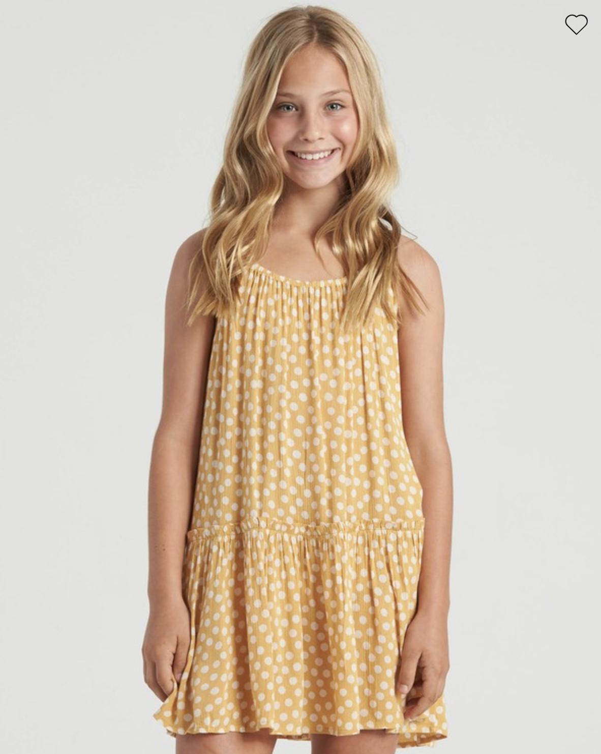 Girls' Butterscotch Dress