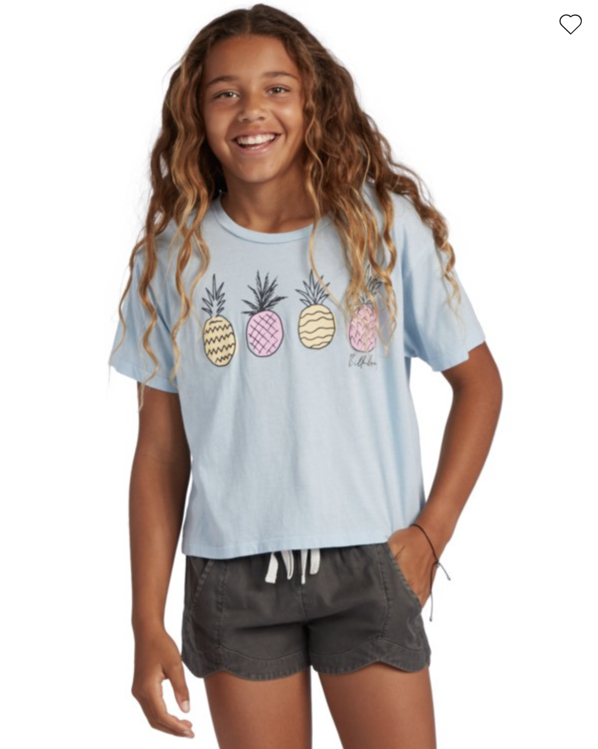 Girl's Pineapple Party T-Shirt