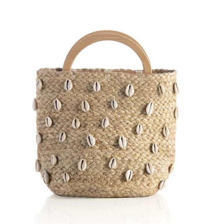 Cara Top Handle Bucket Bag