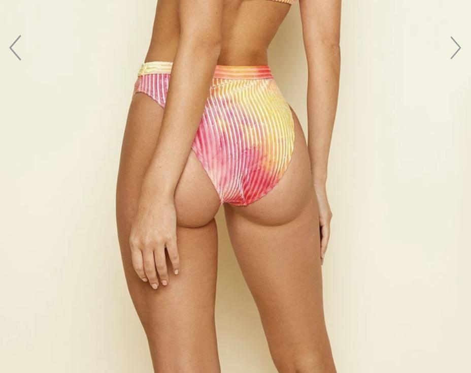 Burn Tie-Dye Bikini Set