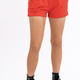 Red Elastic Waist Shorts