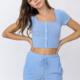 Elastic Pocket Detail Shorts