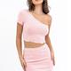Merrow Detail Mini Skirt