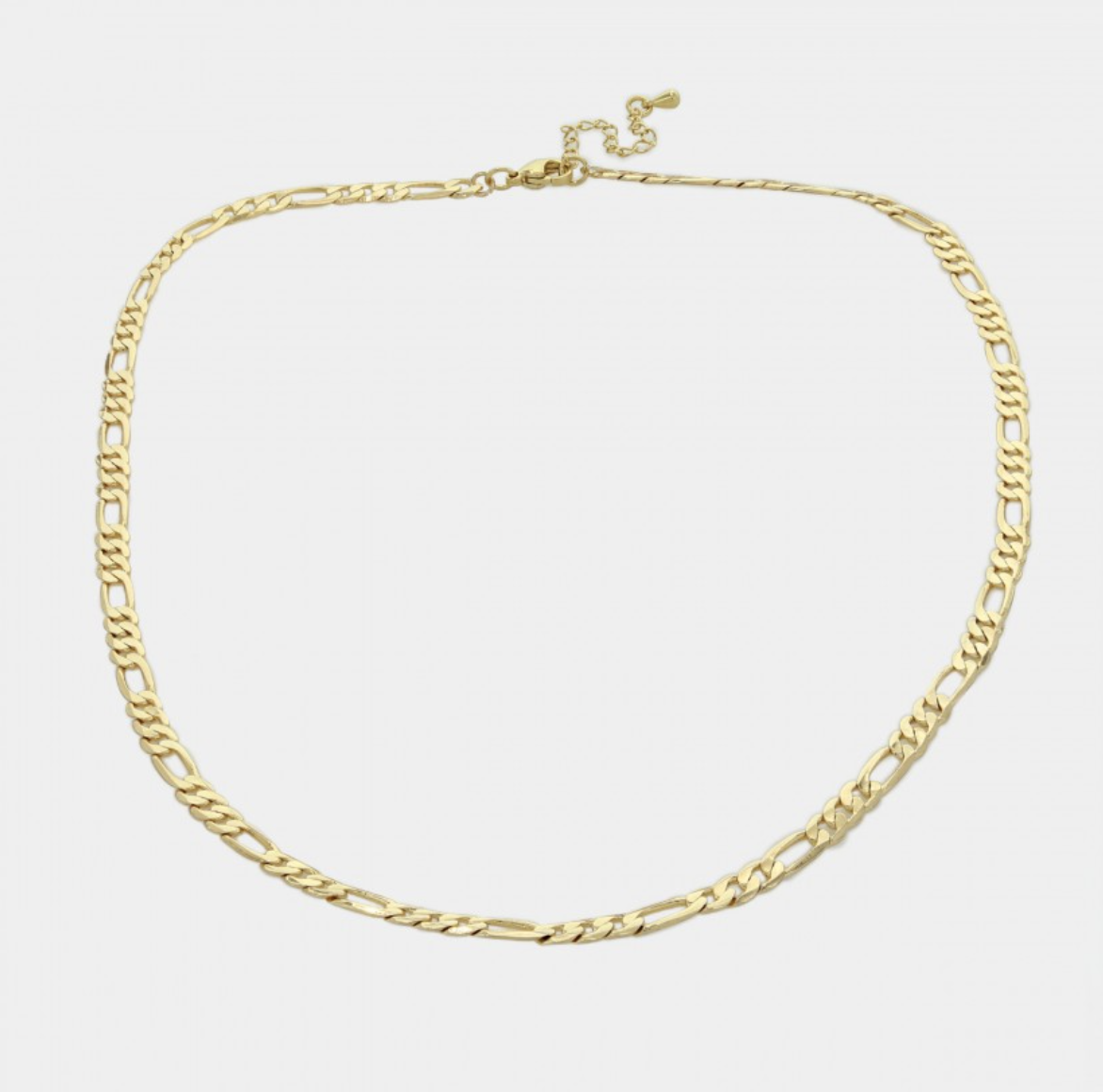 """18"""" Figaro Chain Necklace"""