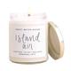 Island Air Soy Candle Clear Jar