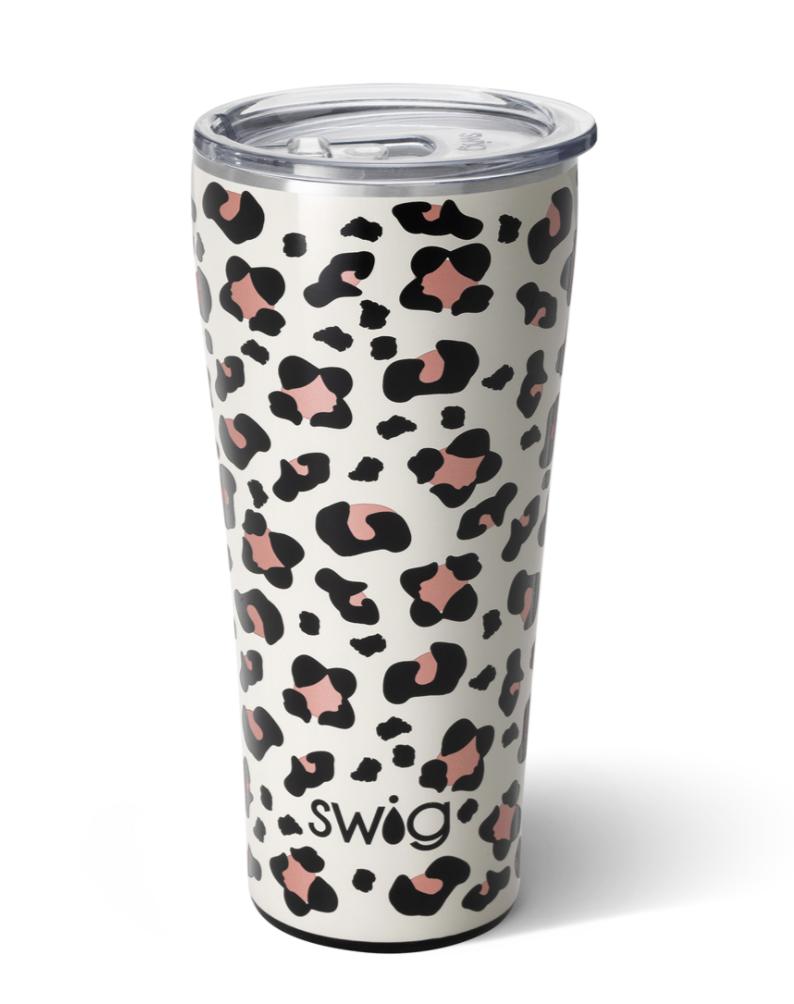 Swig Luxy Leopard Tumbler (32oz)