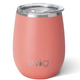 Swig Matte Coral Stemless Cup (14oz)