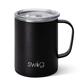 Swig Matte Black Mega Mug (24oz)