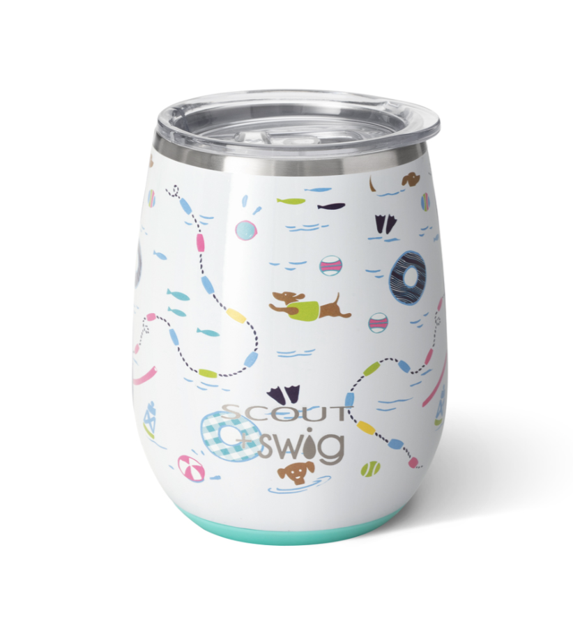Swig Scout Float Couture Stemless Cup (14oz)