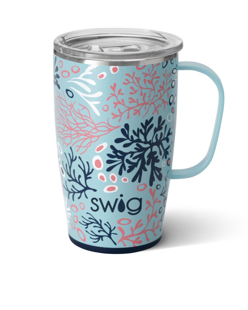 Swig Coral Me Crazy Mug (18oz)