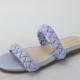 Lavender Zest Braided Slide