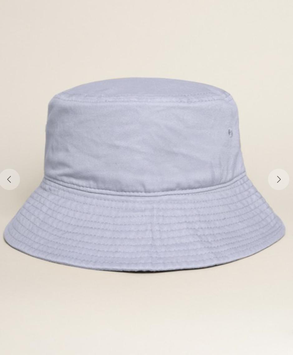 Solid Bucket Hat Blue Mint