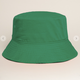 Solid Bucket Hat Kelly Green