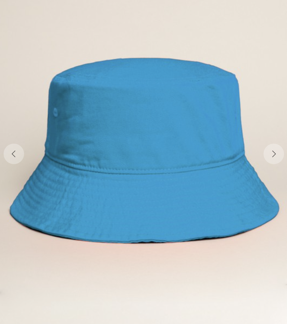 Solid Bucket Hat Turquoise