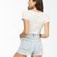 So Cheeky Denim Shorts