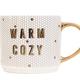 Warm + Cozy Tile Coffee Mug