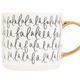 Fa La La La Tile Coffee Mug