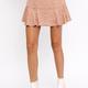 Paisley Ruffle Skirt