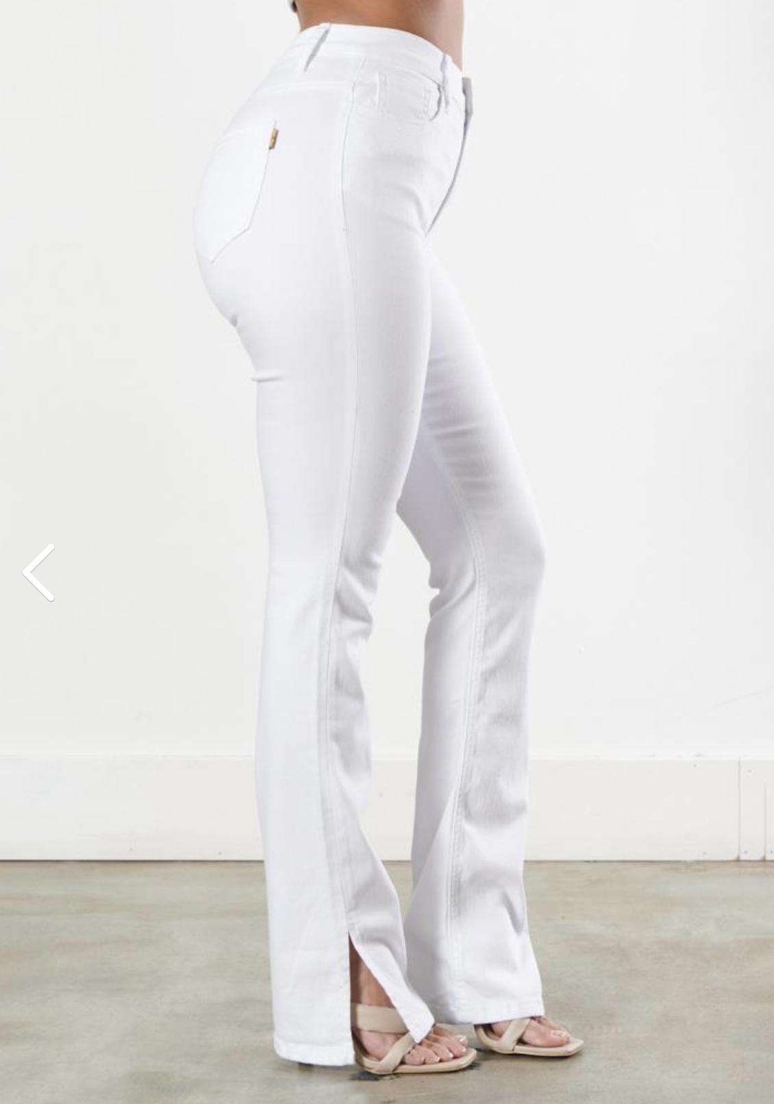 White Dream BootCut Jeans