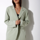 Sage Double Breasted Blazer
