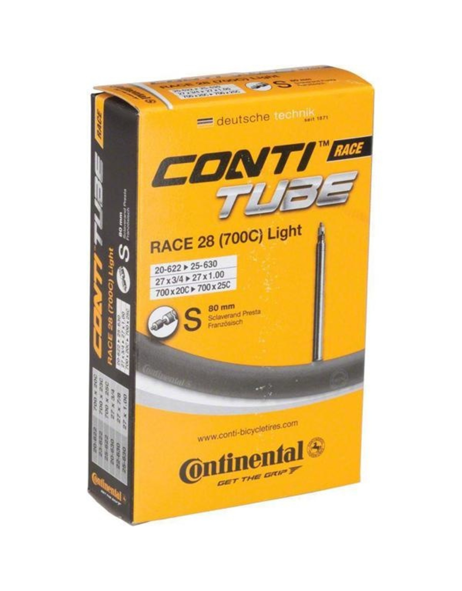 Continental Tubes 700 x 18-25 - PV 60mm