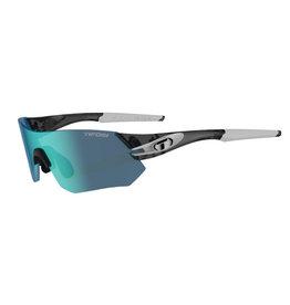 Tifosi Optics Tsali, Crystal Smoke/White Interchangeable Sunglasses - Clarion Blue/AC Red/Clear