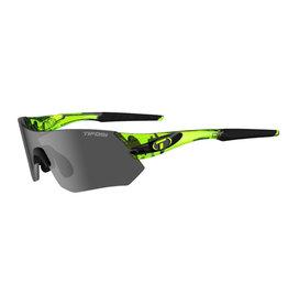 Tifosi Optics Tsali, Crystal Neon Green Interchangeable Sunglasses - Smoke/AC Red/Clear