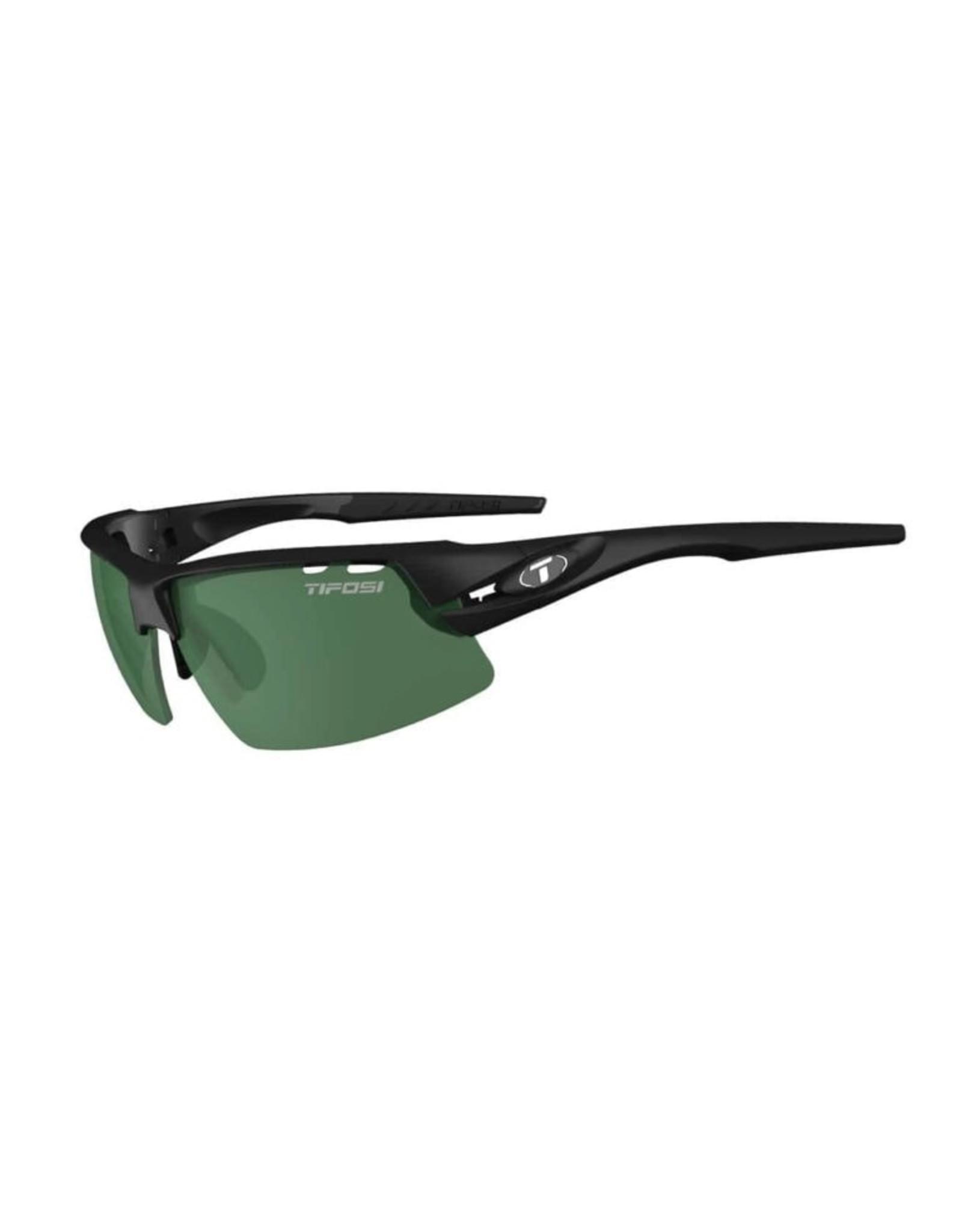 Tifosi Optics Crit, Matte Black Single Lens Sunglasses - Enliven Golf