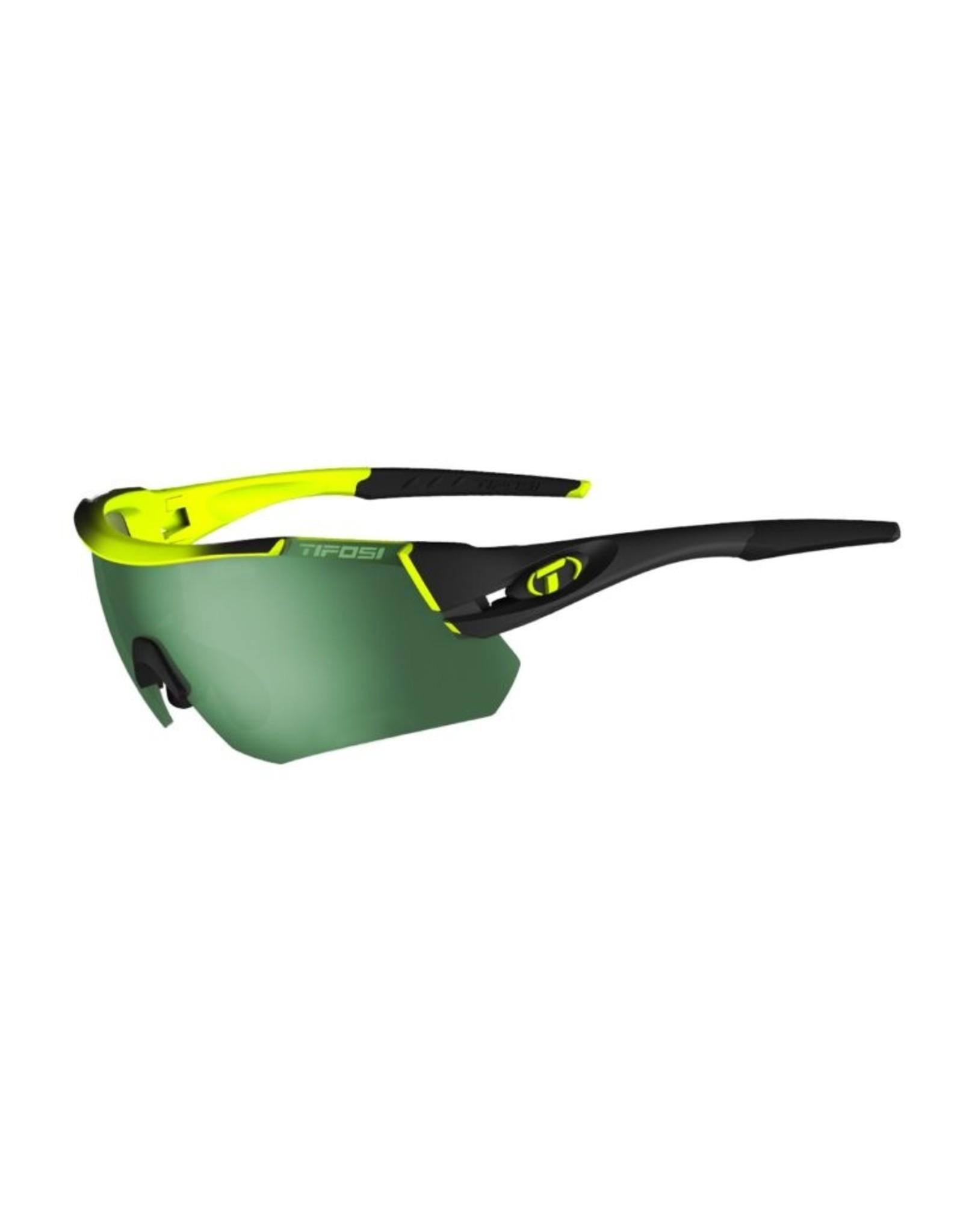 Tifosi Optics Alliant, Race Neon Interchangeable Sunglasses - Smoke/AC Red/Clear