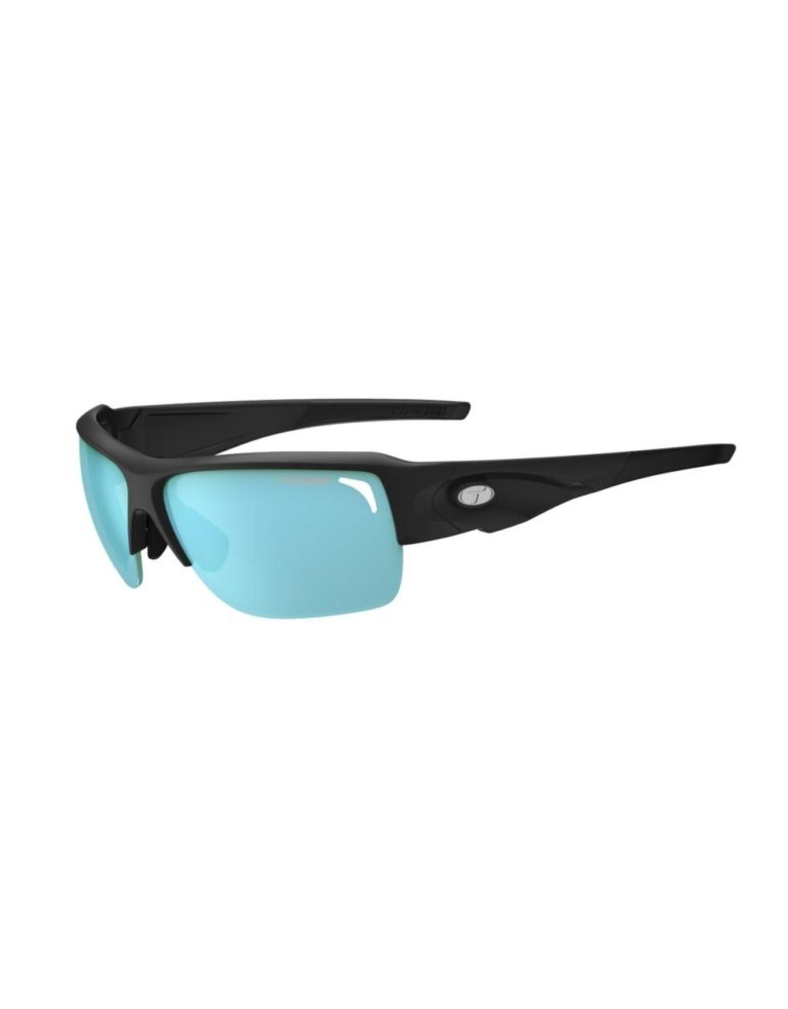 Tifosi Optics Elder SL, Matte Black Polarized Sunglasses - Enliven Off-Shore Polarized