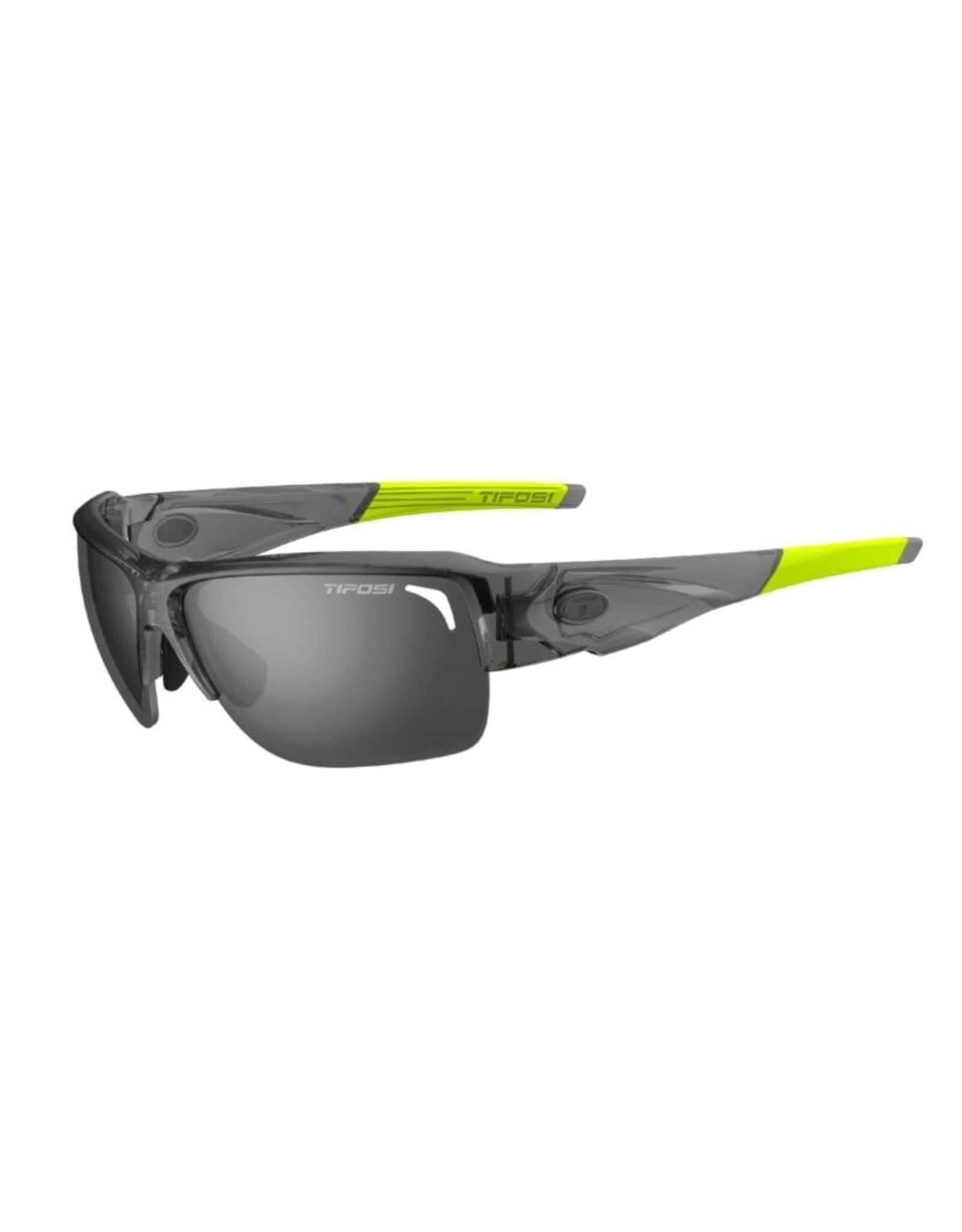 Tifosi Optics Elder SL, Crystal Smoke Single Lens Sunglasses - Smoke