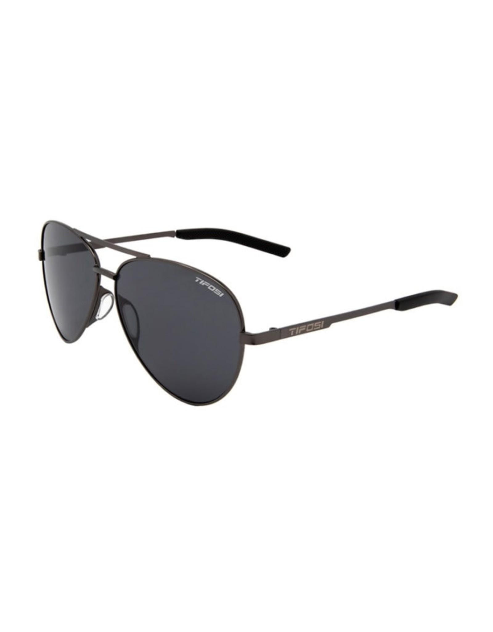 Tifosi Optics Shwae, Graphite Polarized Sunglasses - Smoke Polarized