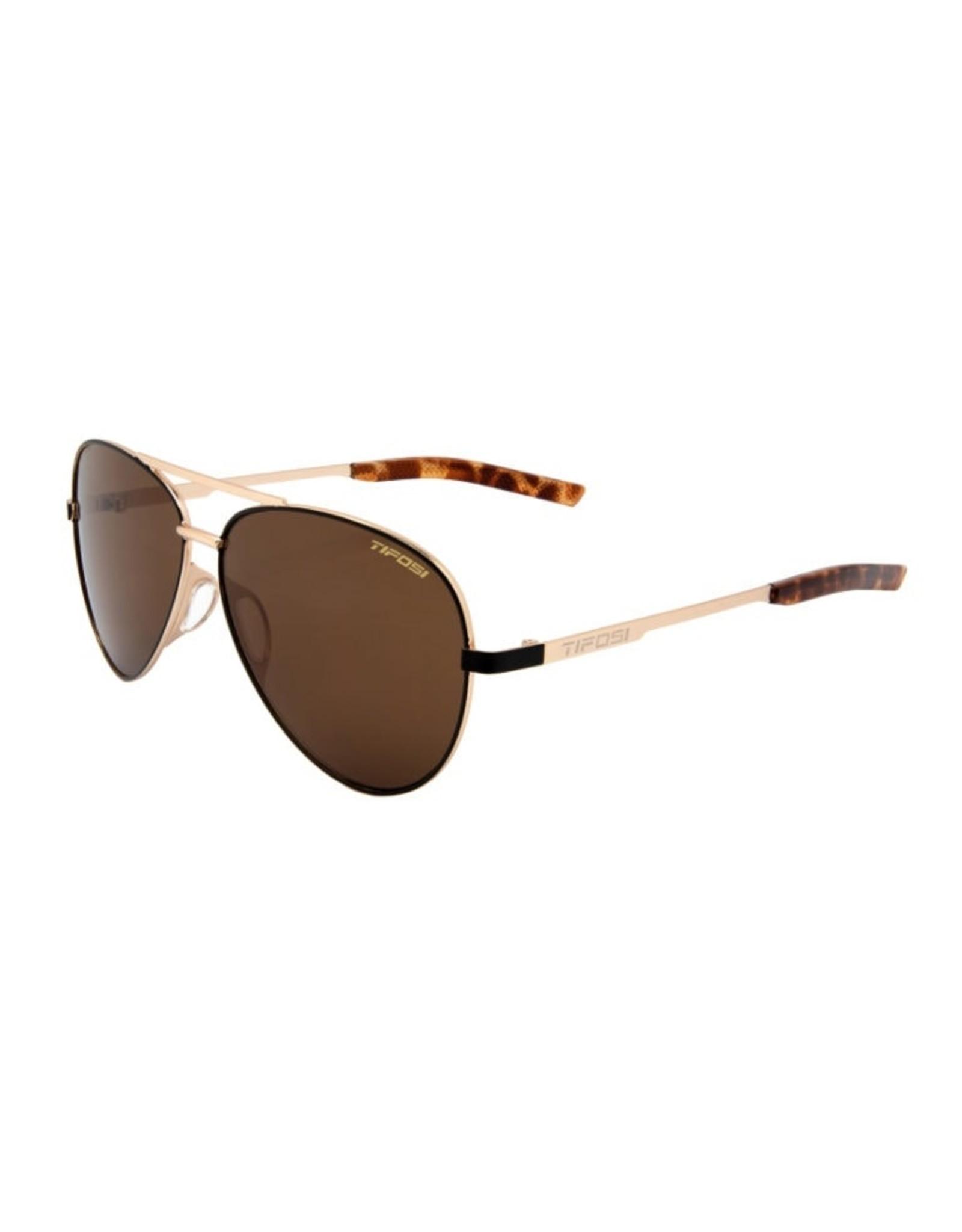 Tifosi Optics Shwae, Midnight Gold Single Lens Sunglasses - Brown