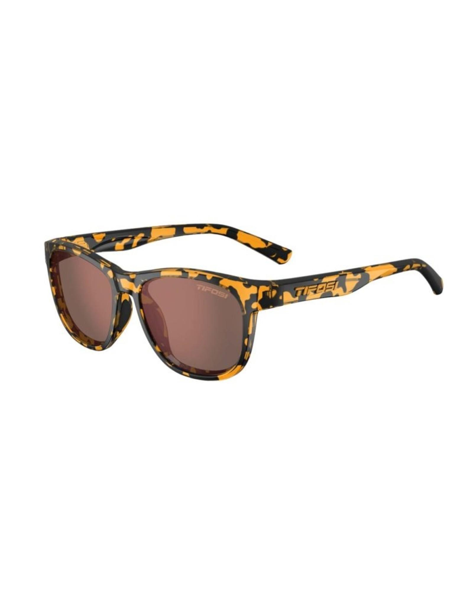 Tifosi Optics Swank, Yellow Confetti Polarized Sunglasses - Brown Polarized
