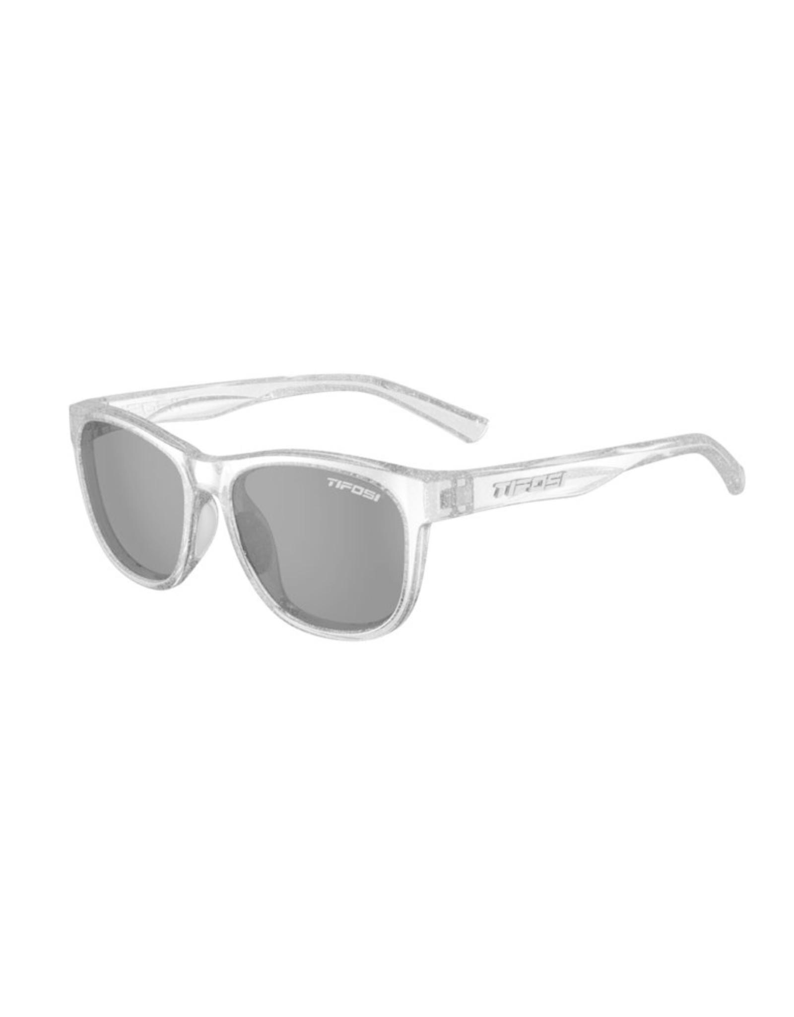 Tifosi Optics Smoke, Swank Glitter, Silver Shimmer Single Lens Sunglasses. Type: Single Lens