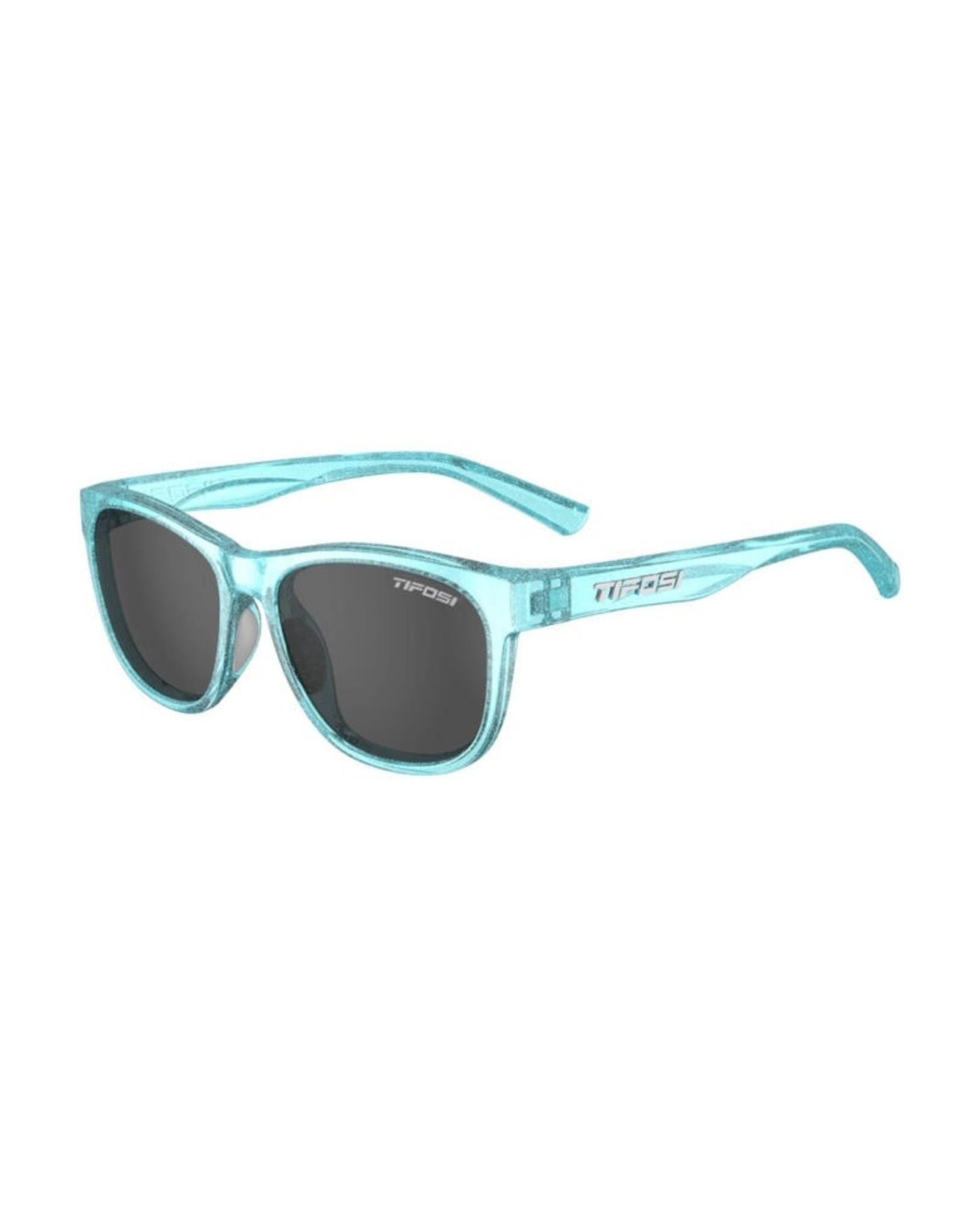Tifosi Optics Smoke, Swank Glitter, Mermaid Blue Single Lens Sunglasses. Type: Single Lens